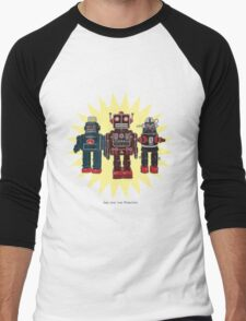 We Are The Robots Men's Baseball ¾ T-Shirt