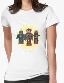 We Are The Robots Womens Fitted T-Shirt