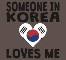 Someone In Korea Loves Me Baby Tee