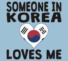 Someone In Korea Loves Me Kids Tee