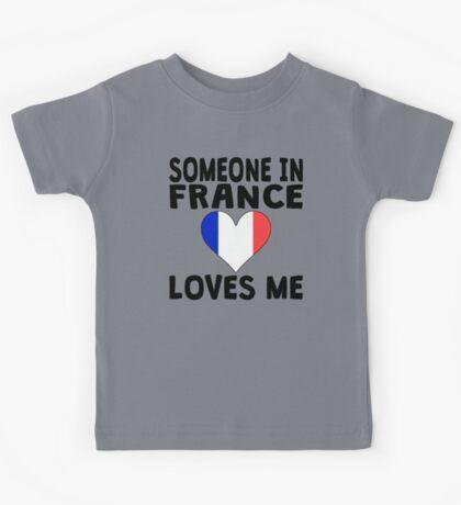 Someone In France Loves Me Kids Tee
