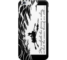 He maketh the storm a calm iPhone Case/Skin