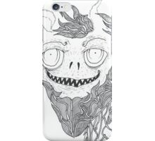 demonic grinch (un-photoshopped) iPhone Case/Skin