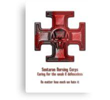 Sontaran Nursing Corps Metal Print