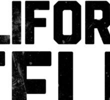 Lookin' California, Feelin' Minnesota (Black) Sticker