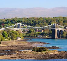 Menai Bridge, Wales by KazGolbourn