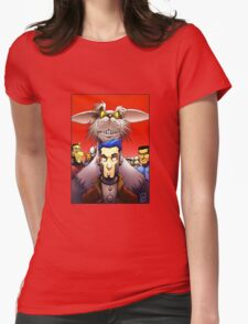 Lou Scannon Cover Womens Fitted T-Shirt