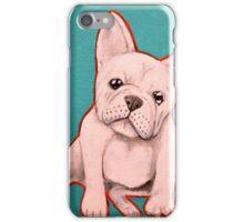 White French Bulldog iPhone Case/Skin