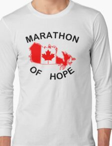 Marathon of Hope, 1980 Long Sleeve T-Shirt