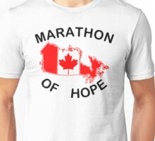 Marathon of Hope, 1980 Unisex T-Shirt