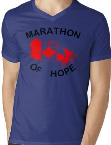 Marathon of Hope, 1980 Mens V-Neck T-Shirt
