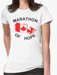 Marathon of Hope, 1980 Womens Fitted T-Shirt