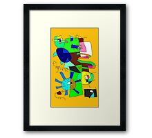 """Differ Ants Engine"" by Richard F. Yates Framed Print"