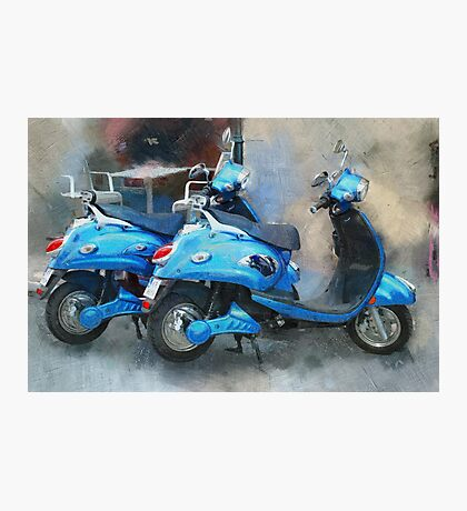 scooters Photographic Print