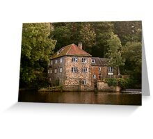 The Fulling Mill: Durham Greeting Card