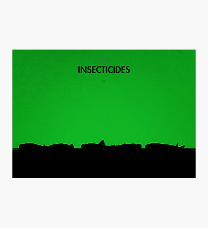99 Steps of Progress - Insecticides Photographic Print