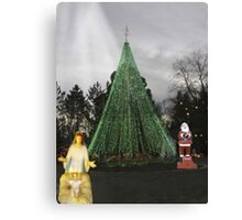 Christmas Celebration - Vintage Pieces From Idaho Falls Past Canvas Print