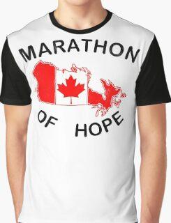 Marathon of Hope, 1980 v2 Graphic T-Shirt
