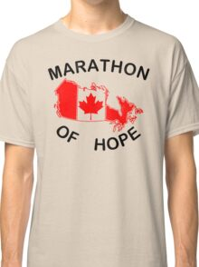 Marathon of Hope, 1980 v2 Classic T-Shirt