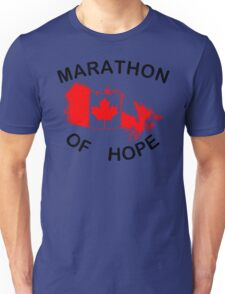 Marathon of Hope, 1980 v2 Unisex T-Shirt
