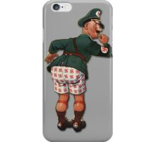 """Caught With His """"Panzers"""" Down... iPhone Case/Skin"""
