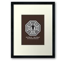 Station 10 - The Knight Framed Print