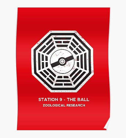 Station 9 - The Ball Poster