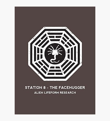 Station 8 - The Facehugger Photographic Print