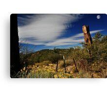 """"""" Mormon Trail Head """" Canvas Print"""