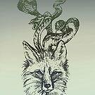 Foxnake at Nightrise by BParsh