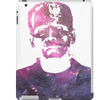 Frankenstein | Boris Karloff | Galaxy Horror Icons iPad Case/Skin