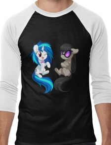 MLP - Vinyl & Octavia Men's Baseball ¾ T-Shirt
