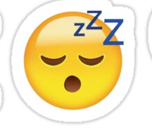 Can't Sleep Love Sticker
