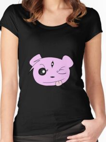 Cheeky Teddy Women's Fitted Scoop T-Shirt