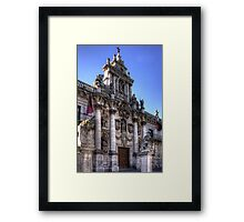 University of Valladolid Framed Print