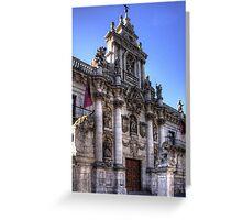 University of Valladolid Greeting Card