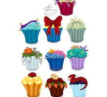 The Princess Cupcake Collection  by Chantelle Janse van Rensburg