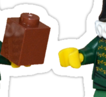 To brick or not to brick Sticker