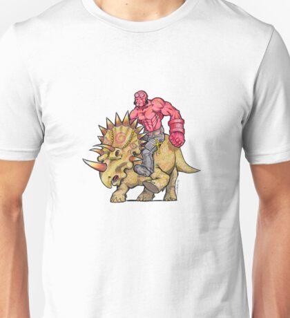 Hellboy Riding Hellboy Unisex T-Shirt