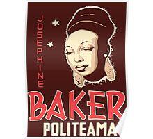 Vector art Josephine Baker Poster