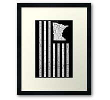 The United State Collection : Minnesota Framed Print
