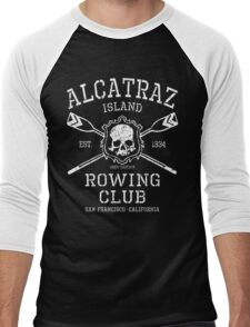 Alcatraz Rowing Club Men's Baseball ¾ T-Shirt