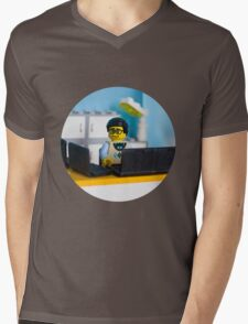 Lego geek Mens V-Neck T-Shirt