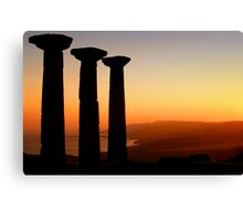 Temple Of Athena / ASSOS – Turkey Canvas Print