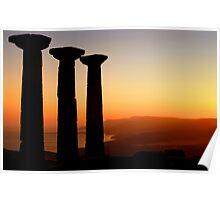 Temple Of Athena / ASSOS – Turkey Poster