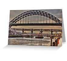 Winter's Tyne Greeting Card