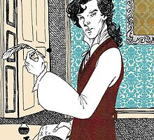 Libertine Sherlock  by NadddynOpheliah