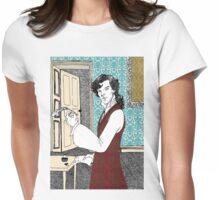 Libertine Sherlock  Womens Fitted T-Shirt