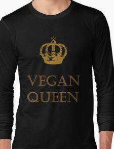 Vegan Queen Long Sleeve T-Shirt