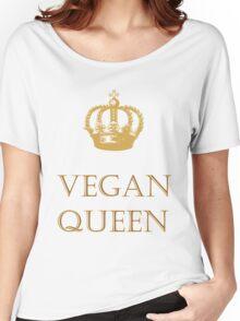Vegan Queen Women's Relaxed Fit T-Shirt